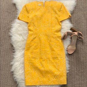 Ann Taylor yellow dress